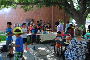 Food, games and fun at English Village